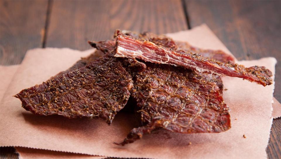 carne de vită jerky pentru pierderea de grăsimi)