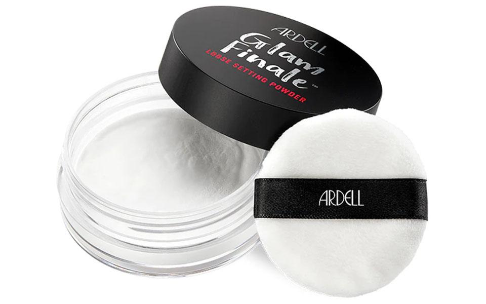 Cutie pudra pentru piele uscata Ardell Beauty Glam Finale Translucent.