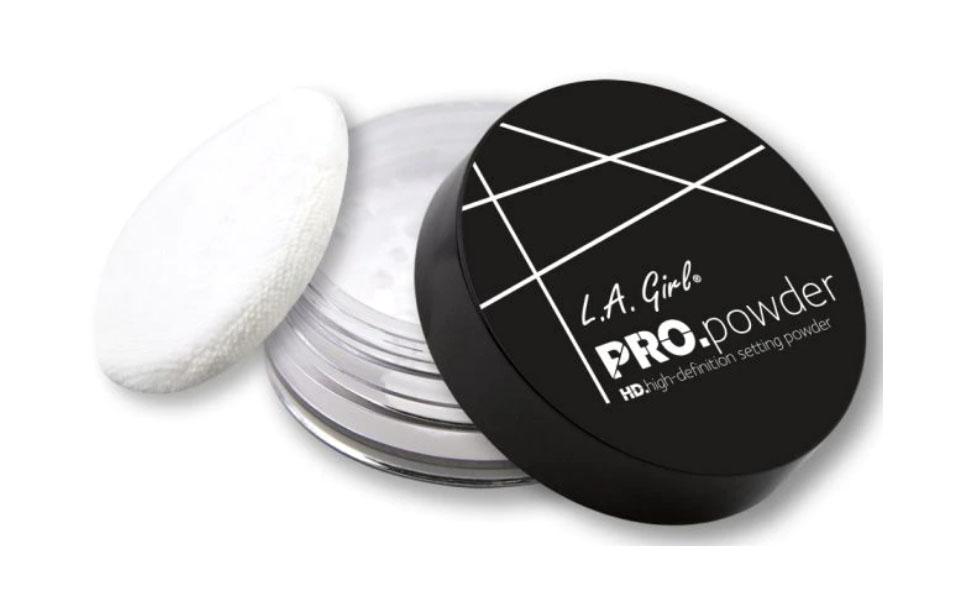 Cutie pudra pentru piele uscata L.A Girl HD Pro Setting Powder.