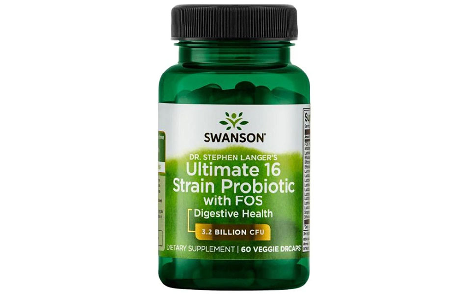 Flacon probiotice Swanson.