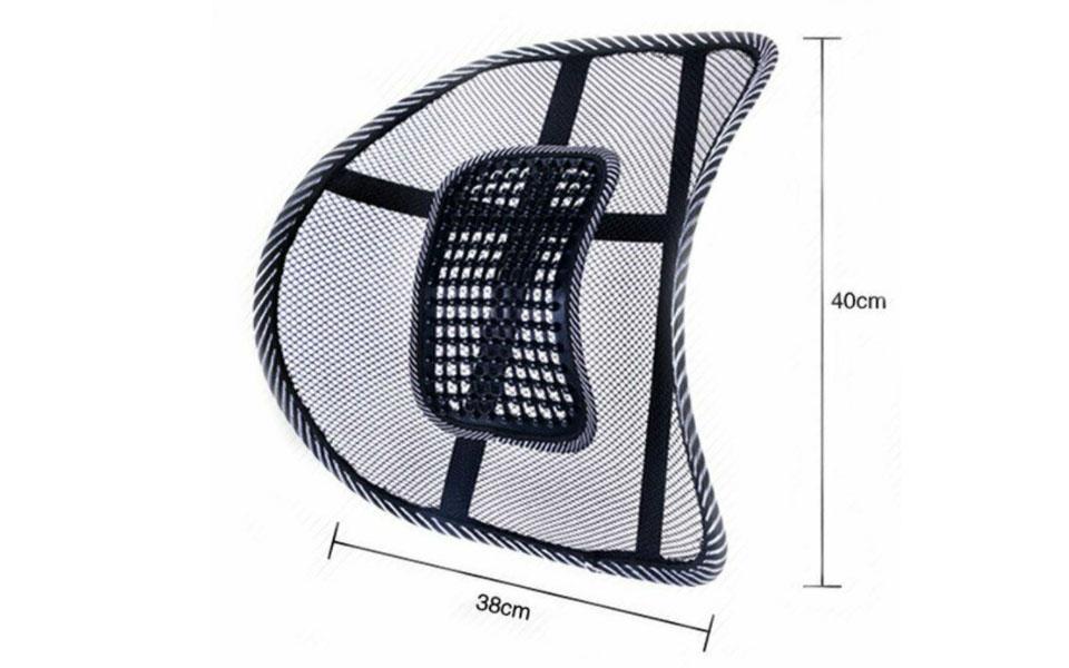 Dimensiuni suport lombar scaun auto Vivo.