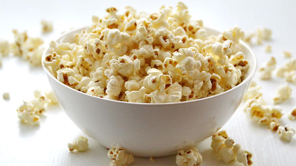 Castron cu floricele (popcorn)